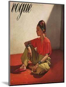 Vogue Cover - April 1939 by Horst P. Horst