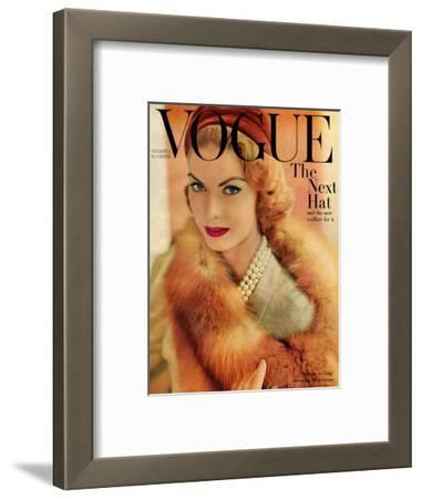 Vogue Cover - August 1957
