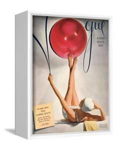 Vogue Cover - May 1941 - Having a Ball by Horst P. Horst