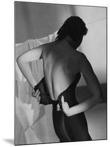 Vogue - February 1948 - Corset by Horst P. Horst