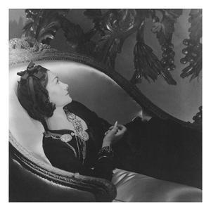 Vogue - February 1954 - Coco Chanel by Horst P. Horst