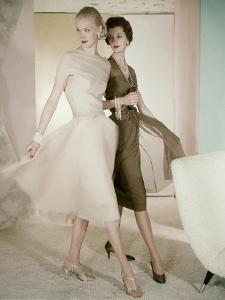 Vogue - March 1955 by Horst P. Horst