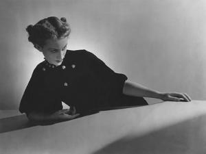 Vogue - November 1935 - Cora Hemmet Models Lady Bug Pins by Horst P. Horst