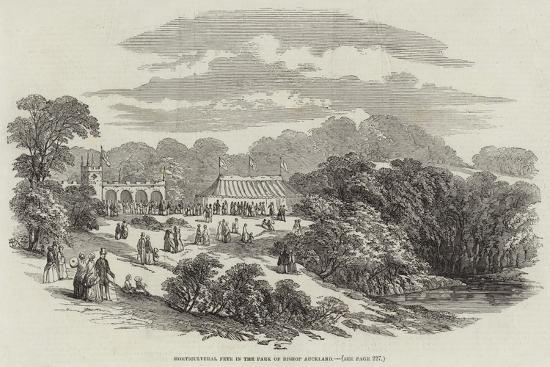 Horticultural Fete in the Park of Bishop Auckland--Giclee Print