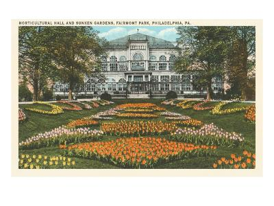 Horticultural Hall, Philadelphia, Pennsylvania--Art Print