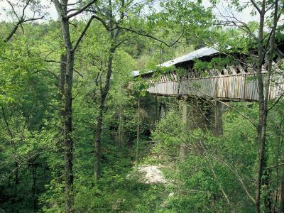 Horton Mill Covered Bridge, Alabama, USA-William Sutton-Photographic Print