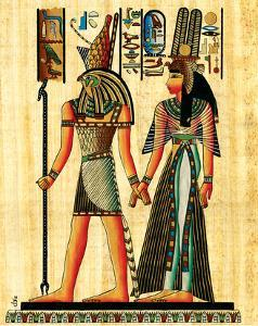 Horus and Nefertiti