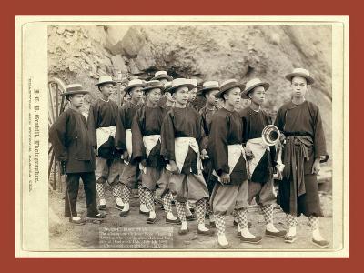 Hose Team. the Champion Chinese Hose Team of America-John C. H. Grabill-Giclee Print