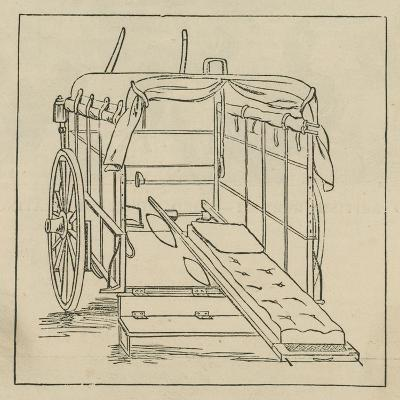 Hospital and Accident Ambulance Service Vehicle--Giclee Print