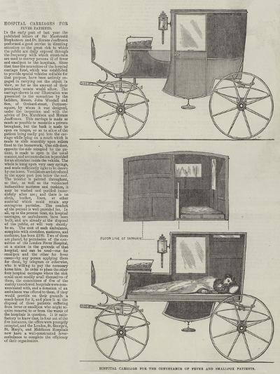 Hospital Carriage for the Conveyance of Fever and Smallpox Patients--Giclee Print