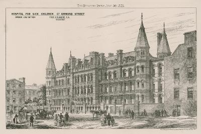Hospital for Sick Children, Great Ormond Street--Giclee Print