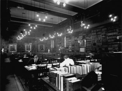 Hospital Library--Photographic Print