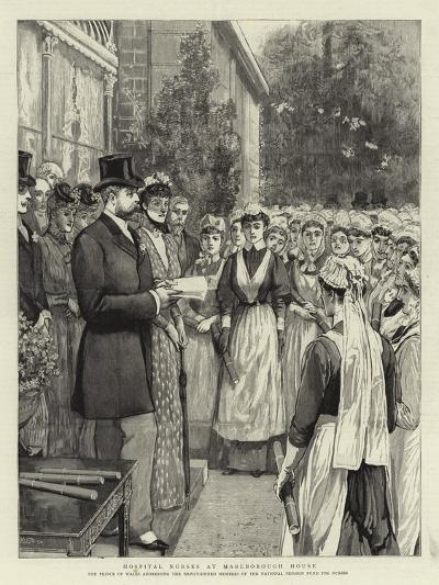 Hospital Nurses at Marlborough House--Giclee Print