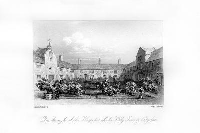 Hospital of the Holy Trinity, Croydon, 1840-MJ Starling-Giclee Print