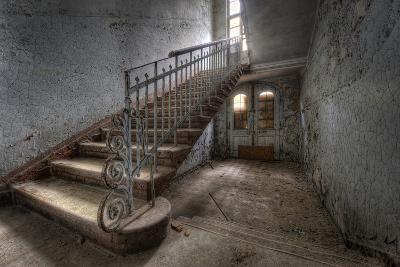 Hospital Stairs-kre_geg-Photographic Print