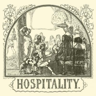 Hospitality--Giclee Print