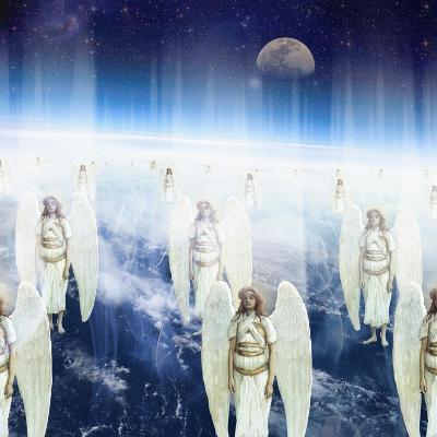 Host of Angels, 2008-Trygve Skogrand-Giclee Print