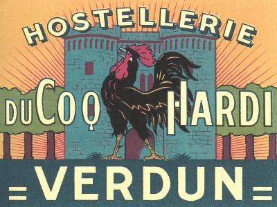 Hostellerie Du Coq Hardi--Art Print
