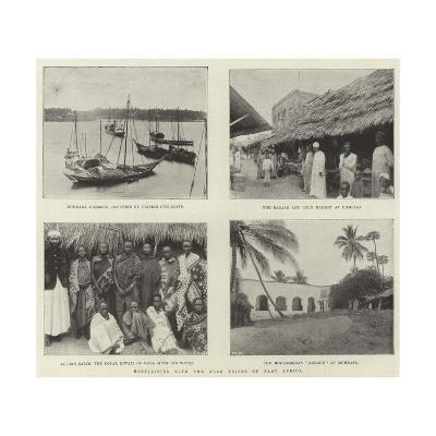 Hostilities with the Arab Tribes of East Africa--Giclee Print