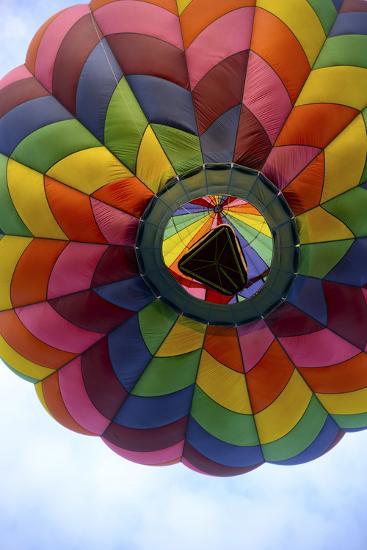 Hot Air Balloon-Reminisce LTD-Photographic Print