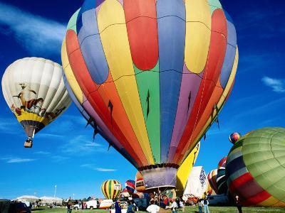 Hot Air Balloons at Annual Great Reno Balloon Race-Judy Bellah-Photographic Print