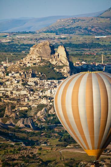 Hot Air Balloons over Cappadocia, Turkey-EvanTravels-Photographic Print