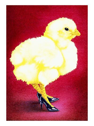 Hot Chicks and High Heels-Will Bullas-Premium Giclee Print