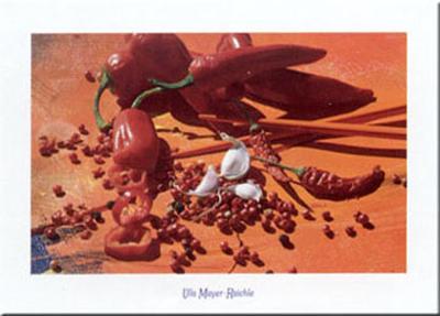 Hot Chilli- I0-Ulla Mayer Raichle-Art Print