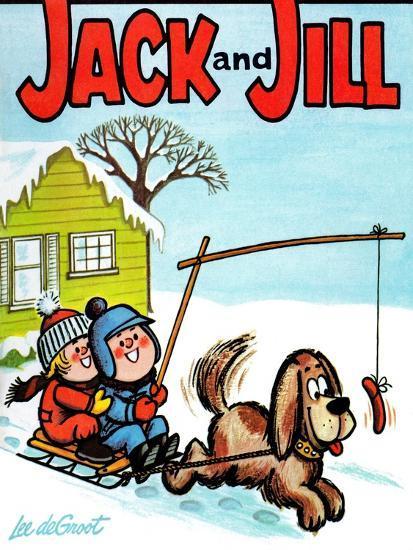 Hot Dog! - Jack and Jill, January 1965-Lee de Groot-Giclee Print