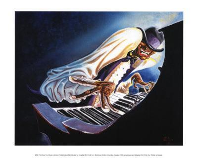 Hot Keys-Steven Johnson-Art Print