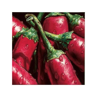 Hot Peppers-Alma'ch-Giclee Print