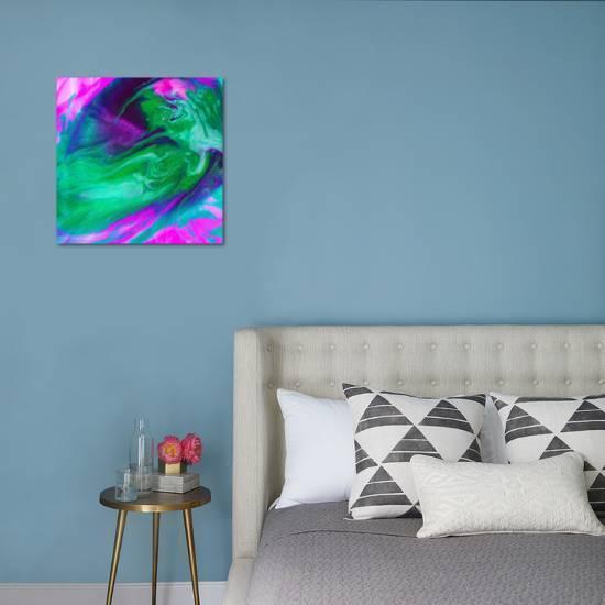 Hot Pink Emerald Art Print Ashley Camille Art Com