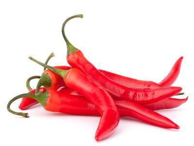 Hot Red Chili or Chilli Pepper-Natika-Photographic Print