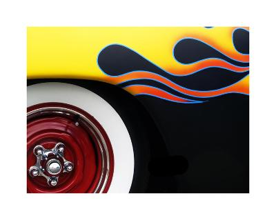 Hot Rod Flames-Clive Branson-Giclee Print
