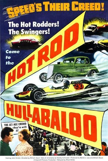 HOT ROD HULLABALOO--Art Print