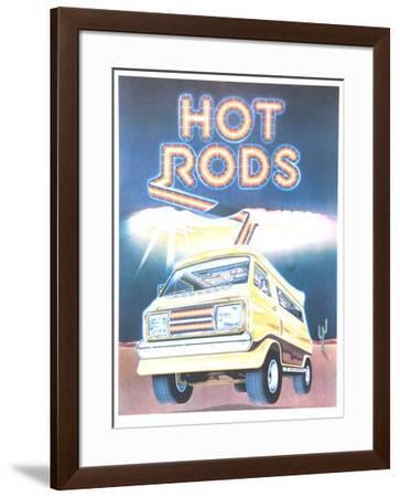 Hot Rods-Tony Mascio-Framed Collectable Print