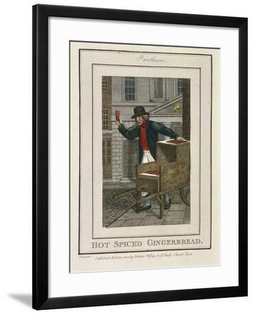 Hot Spiced Gingerbread, Cries of London, 1804-William Marshall Craig-Framed Giclee Print