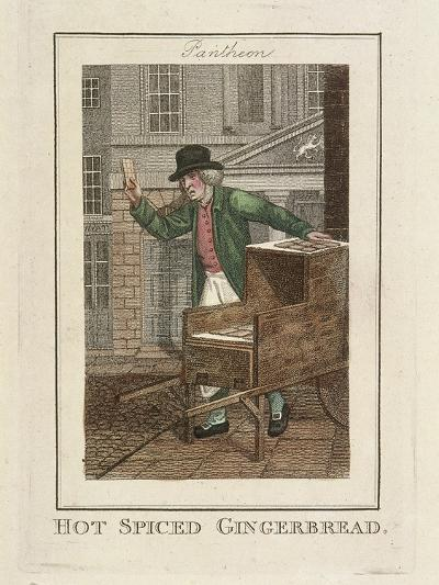 Hot Spiced Gingerbread, Cries of London, 1804-William Marshall Craig-Giclee Print