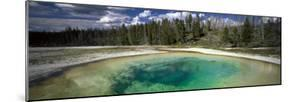 Hot Spring Pool in the Landscape, Beauty Pool, Yellowstone National Park, Wyoming, USA
