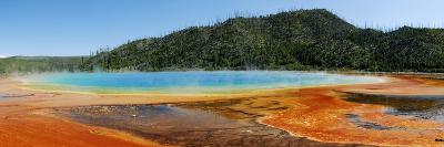Hot Springs At Yellowstone National Park-Pekka Parviainen-Photographic Print