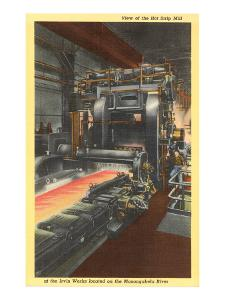 Hot Strip Mill, Iron Works, Pittsburgh, Pennsylvania