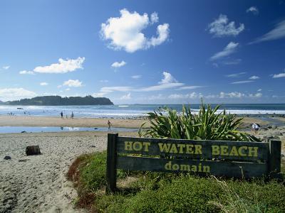 Hot Water Beach on the East Coast of the Coromandel Peninsula, North Island, New Zealand-Robert Francis-Photographic Print