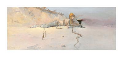 Hot Wind-Charles Conder-Premium Giclee Print