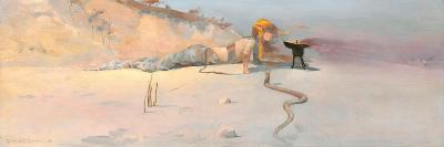 Hot Wind-Charles Conder-Giclee Print