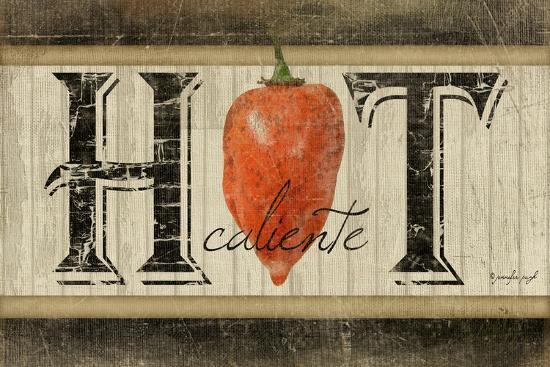 Hot-Jennifer Pugh-Art Print
