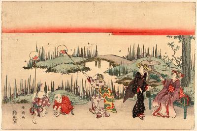 Hotaru Gari-Katsukawa Shunsen-Giclee Print