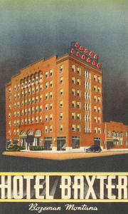 Hotel Baxter, Bozeman, Montana