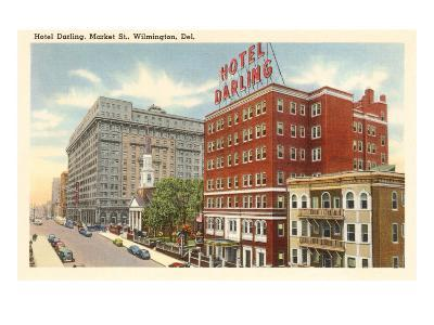 Hotel Darling, Wilmington, Delaware--Art Print