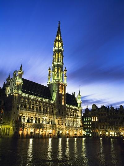 Hotel De Ville and Grand Place-Design Pics Inc-Photographic Print
