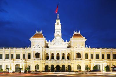 Hotel De Ville (City Hall), Ho Chi Minh City (Saigon), Vietnam, Indochina, Southeast Asia, Asia-Christian Kober-Photographic Print